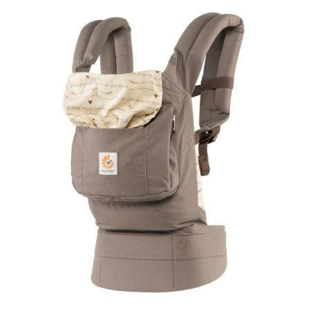 Canguru Ergobaby Coleção Original - O Melhor Baby Carrier para o seu Bebê - Love Notes