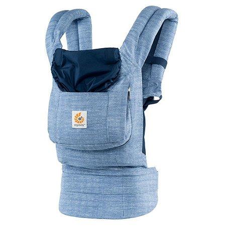 Canguru Ergobaby Coleção Original - O Melhor Baby Carrier para o seu Bebê - Vintage Blue