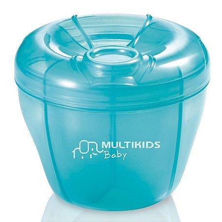 Dosador de Leite em Pó Funny Meal Azul - Multikids Baby