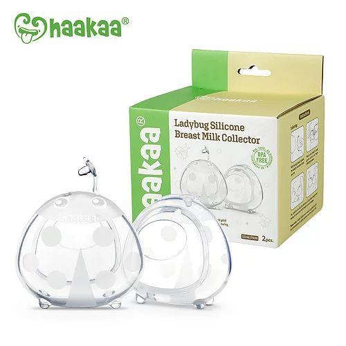 Concha Coletora de Leite Materno Lady Bug com 2 Unidades - Haakaa