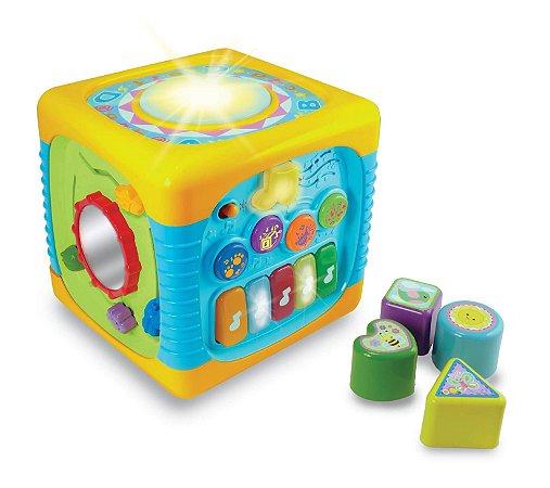 Cubo de Atividades Musical Yes Toys - Winfun