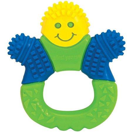 Mordedor de Dentição com Cerdas Azul/Verde/Amarelo - The First Years