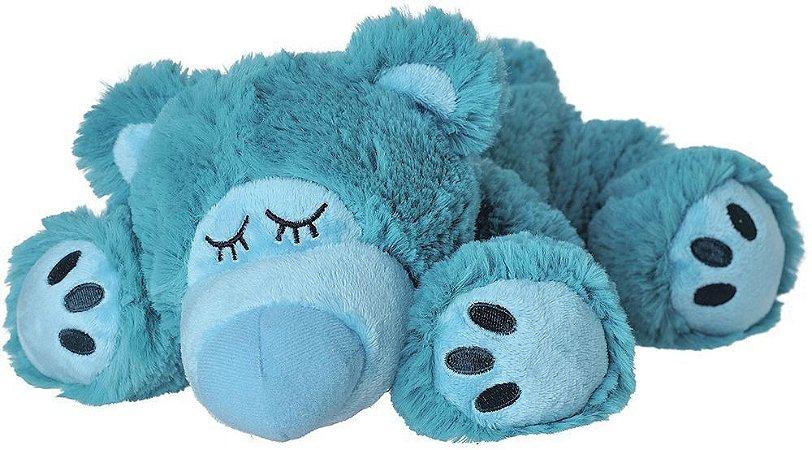 Pelúcia Térmica para Alívio das Cólicas e Aconchego com Aroma Calmante Ursinho Azul - Cozy Plush