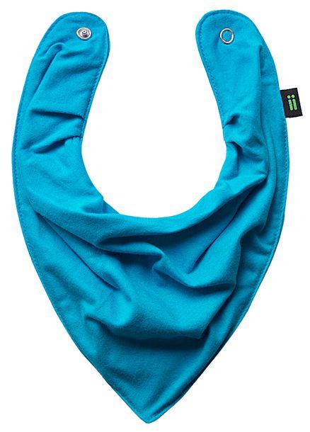 Babador Bandana Azul Turquesa - Gumii