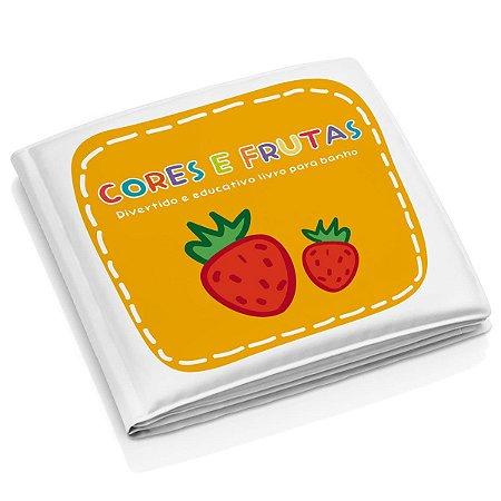 """Livro Educativo para Banho """"Cores e Frutas"""" - Multikids Baby"""