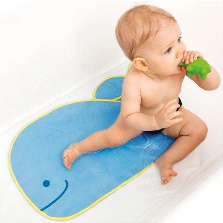 Tapete de Banho Anti Derrapante Baleia Moby Bath Mat - Skip Hop