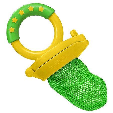 Alimentador para Bebês com Redinha Verde/Amarelo - Munchkin