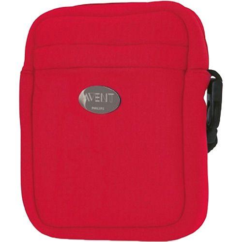 Bolsa Térmica para Mamadeiras Vermelha - Philips Avent
