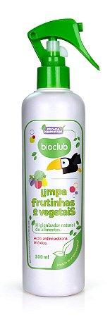 Spray para Limpeza de Frutas e Vegetais 300ml - Bioclub Baby