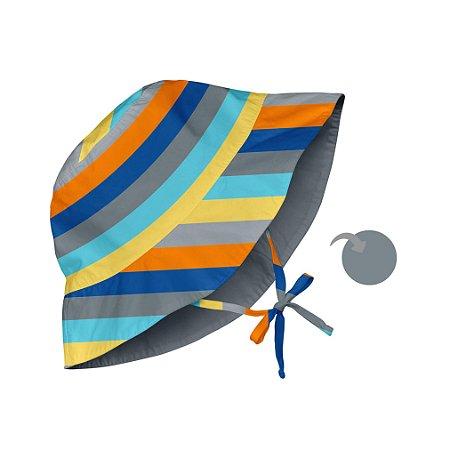 Chapéu de Banho Infantil com FPS +50 Baby Listras - iPlay