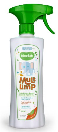 Spray Multi Limpeza de Superfícies 500ml - Bioclub Baby