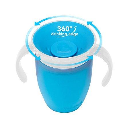 Copo de Treinamento 360 (Miracle Cup) Azul - Munchkin