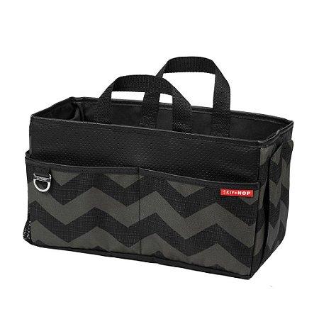 Bolsa Organizadora para Banco de Carro Storage Box (On The Go Drive) Chevron - Skip Hop