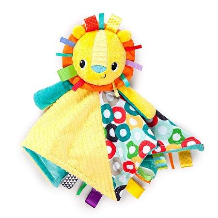 "Naninha Leãozinho ""Taggies Blanket"" - Bright Stars"
