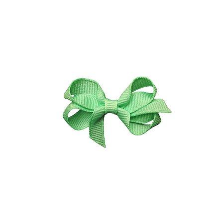 Laço para Cabelo Verde Claro P - Gumii