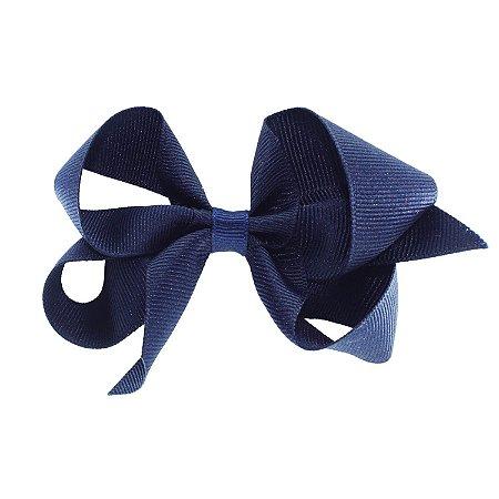 Laço para Cabelo Azul Marinho G - Gumii