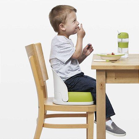 Assento Infantil para Elevação com Encosto (Booster de Alimentação) - Verde - Oxo Tot