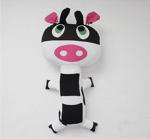 Almofada para Cinto de Segurança Vaca - Colo de Mãe