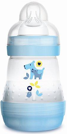Mamadeira MAM First Bottle Anti-Cólica e Auto-Esterilizável 160ml Menino