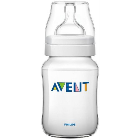 Mamadeira Avent Clássica Anti-Cólica 260ml 1+ Meses - Philips Avent