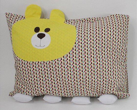 Travesseiro Infantil Urso - Colo de Mãe