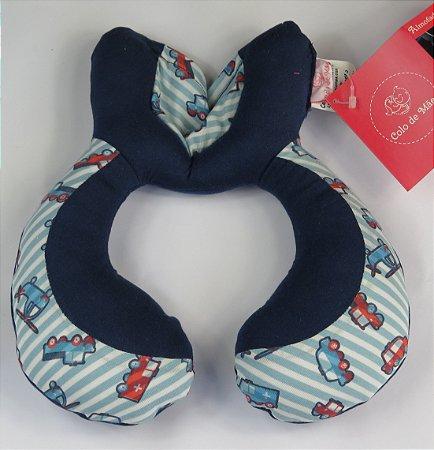 Almofada de Pescoço Carrinhos - Colo de Mãe
