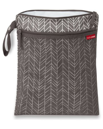 Bolsa Impermeável Wet & Dry Bag Grey Feather - Skip Hop