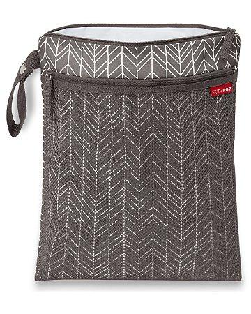 Bolsa Impermeável Wet & Dry Bag Grey Feather - Skip Hop