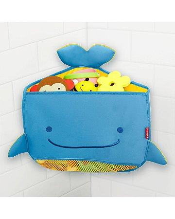 Organizador de Brinquedos de Banho Baleia Moby Toy Organizer (Fixação no Canto) - Skip Hop