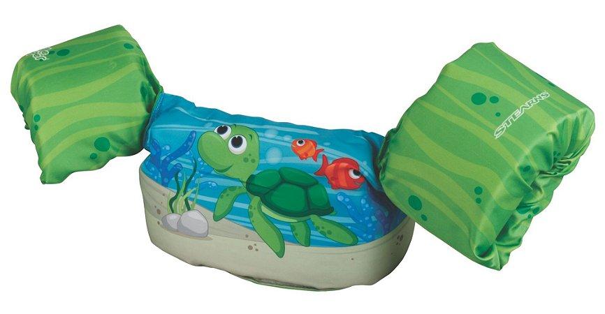 Bóia Colete Infantil Puddle Jumper Tartaruga - Coleman
