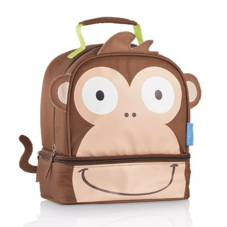 Lancheira Térmica Little Buddys Macaco Caco - Multikids Baby