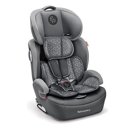 Cadeira para Auto Safemax Fix 9 a 36Kg Cinza Estampado - Fisher Price