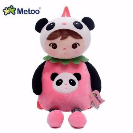 Mochila Infantil Metoo Boneca Panda - Metoo