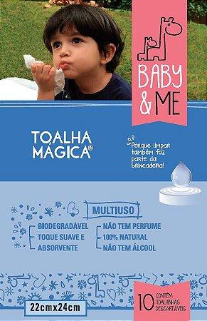 Toalha Mágica - Baby & Me