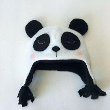 Gorro Infantil Panda - Leloo