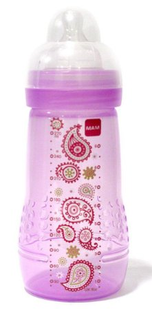 Mamadeira MAM Easy Active Fashion Bottle 270ml Menina