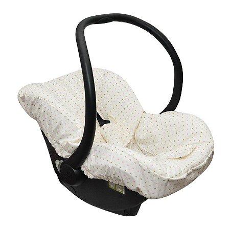 Capa para Bebê Conforto Coração - Candytree