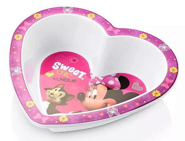 Prato Fundo para Microondas Minnie Disney - Multikids Baby