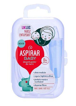 Aspirador Nasal para Bebê com Estojo Aspirar Baby - LikLuc