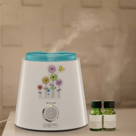 Umidificador e Aromatizador de Ar Aroma Care - Multikids Baby