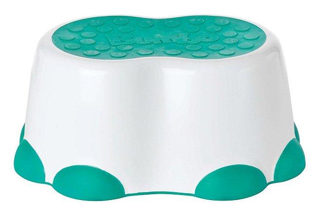 Banquinho Bumbo para Higiene Verde Água - Bumbo