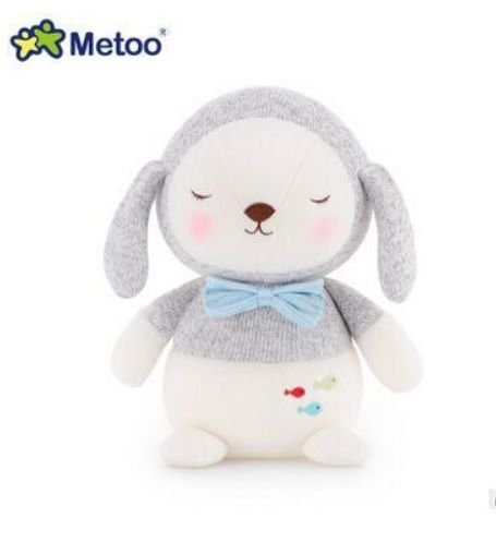 Pelúcia Metoo Bebê Cachorro Cinza - Metoo