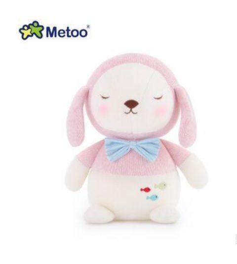 Pelúcia Metoo Bebê Cachorro Rosa - Metoo