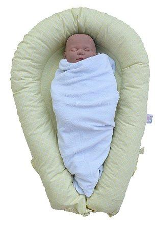 Ninho U-Baby Redutor de Berço Marrocos Amarelo - Colo de Mãe