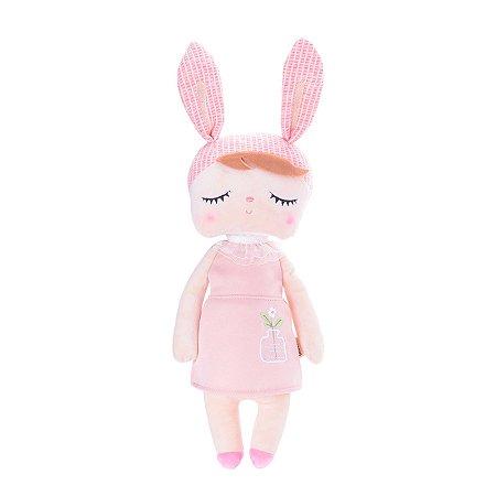 Boneca Metoo Doll Angela Jardineira Rosa - Metoo