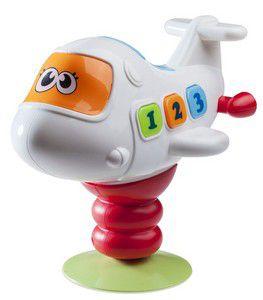 Brinquedo para Cadeirão/Mesa com Ventosa Avião - Girotondo Baby