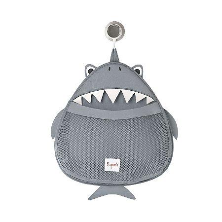 Organizador para Brinquedos de Banho Tubarão - 3 Sprouts