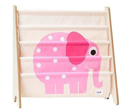 Rack para Livros Infantis Elefante - 3 Sprouts
