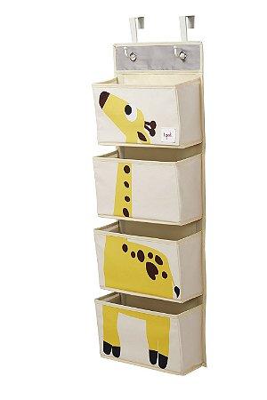 Organizador Infantil de Parede Girafa - 3 Sprouts