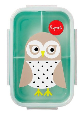 Bento Box (Porta Lanche e Comida) Coruja - 3 Sprouts